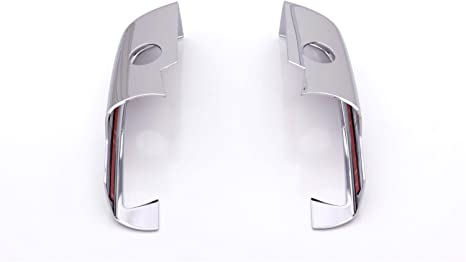 2015-2018 Silverado /& Sierra 2550HD-3500HD Auto Ventshade 687686 Chrome Upper Mirror Covers for 2014-2018 Silverado /& Sierra 1500