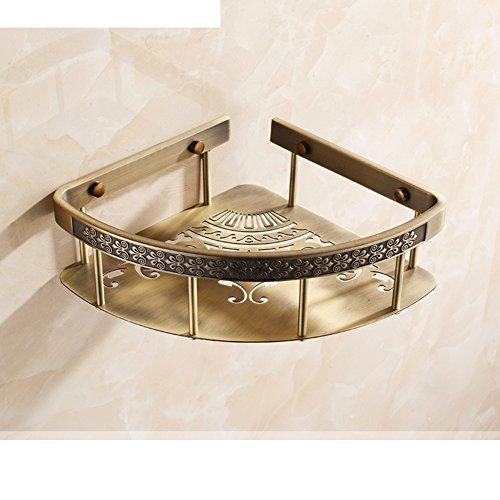 new Triangular basket/shelf /Continental bathroom bathroom bathroom double angle bracket/ Retro single tripod-B