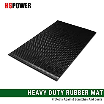 2500//2500 HD 3500 99-06 07 Black Finished Diamond Rubber Floor Mat Carpet Stepside 6.5 Ft Short Bed R/&L Racing Truck Bed Mat Compatiable with Chevy Silverado 1500//1500 HD