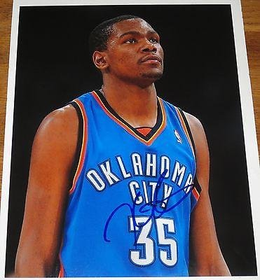 Image Unavailable. Image not available for. Color  Signed Kevin Durant ... d765fead0
