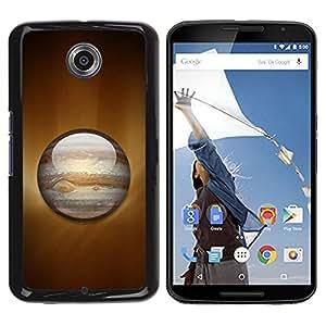 Be Good Phone Accessory // Dura Cáscara cubierta Protectora Caso Carcasa Funda de Protección para Motorola NEXUS 6 / X / Moto X Pro // Saturn Planet