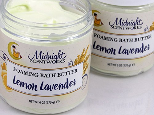 Whipped Cream Soap, Lemon Lavender Foaming Bath Whip (Whip Shea)