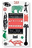 img - for African Proverbs (Gift Editions) Gift Edition by Charlotte Leslau, Wolf Leslau published by Peter Pauper Press Inc,US (1994) book / textbook / text book
