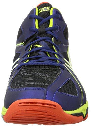Asics Mt Gel volley Sportive Blu lime Navy Scarpe bianco 3 Elite Uomo r4rpIqw1x