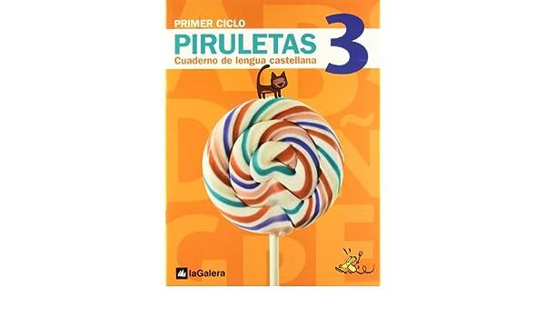 Piruletas.Cuaderno de Lengua castellana 3: 9788424612627: Amazon.com: Books