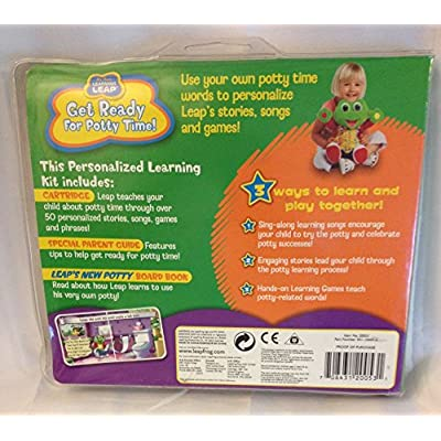 My Own Learning Leap: Personalized Learning Kit - Get Ready for Potty Time: Office Products
