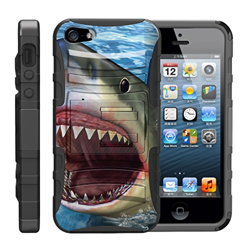TurtleArmor | Compatible for Apple iPhone SE Case | iPhone 5