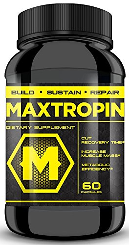 MAXTROPIN - Increase Muscle Mass, Cut Recovery Time, EXPLOSIVE Workouts!