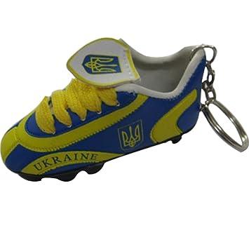 Ucrania fútbol soccer Futbol Mini zapatos llavero llaveros ...