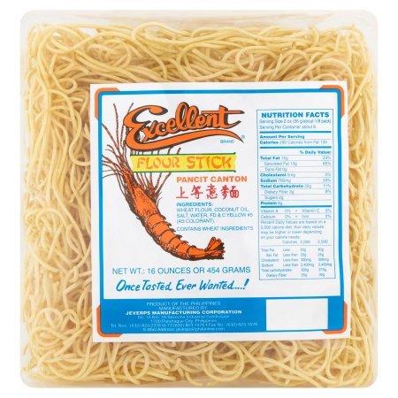 Excellent Pancit Canton Noodles, 16oz (454g) (Best Pancit Canton Recipe)