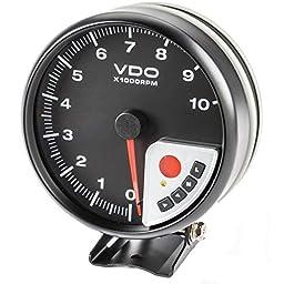 Vdo Instruments A2c59517117 Perf Tach Blk 0-10krpm
