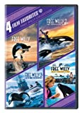 4 Film Favorites: Free Willy (Free Willy, Free Willy 2: The Adventure Home, Free Willy 3: The Rescue, Free Willy 4)