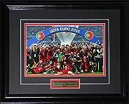 2016 Team Portugal UEFA European Cup Champions Soccer Football 8x12 Frame