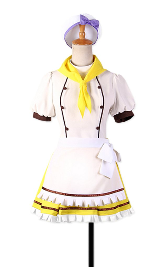 Dreamcosplay Animation Love live Tojo Nozomi Cake Maid Outfits Cosplay
