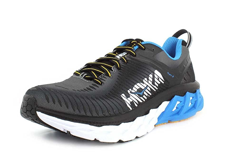 34bc71ef298c1 Hoka One One Mens Arahi 2 Fabric Low Top Lace Up Running Sneaker