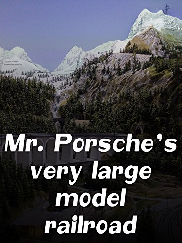 Model Railroad Hobby - Mr. Porsche 's very large model railroad