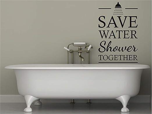 Wallpaper Word Lettering Toilet Sticker Decal Bathroom Accessories Bathroom 6T