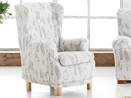 Lanovenanube Eysa - Funda sillón Mariposas Relax