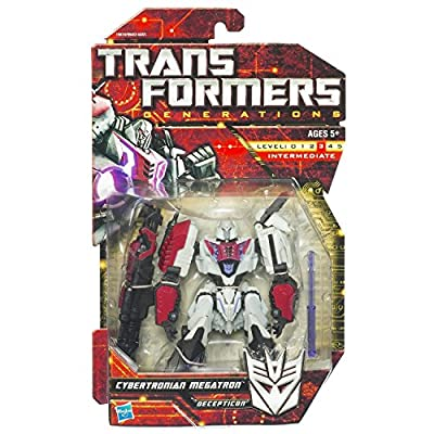 Transformers Generations: Cybertronian Megatron Decepticon Action Figure