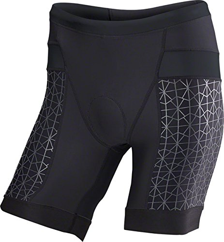 TYR Competitor 7in Tri Short - Men's Black/Black, - Tyr Triathlon Shorts