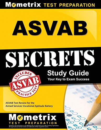 Pdf Test Preparation ASVAB Secrets Study Guide: ASVAB Test Review for the Armed Services Vocational Aptitude Battery