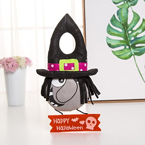 Iuhan Halloween Props Suspension Label Accessories Door And Window Party Cute Pumpkin Decorations (38cm, A)