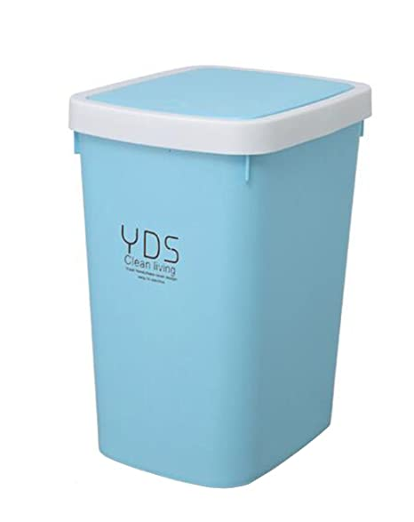 Captivating Rectangle Plastic Trash Can Kitchen/bathroom/bedroom/Parlor/Office Trash Can  With