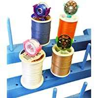 PeavyTailor 20pcs Bobbin Cilp Bobbin Holder Clamp Thread Organizer Matching Thread Spools Together for Brother Sewing Machine Thread Rack #2