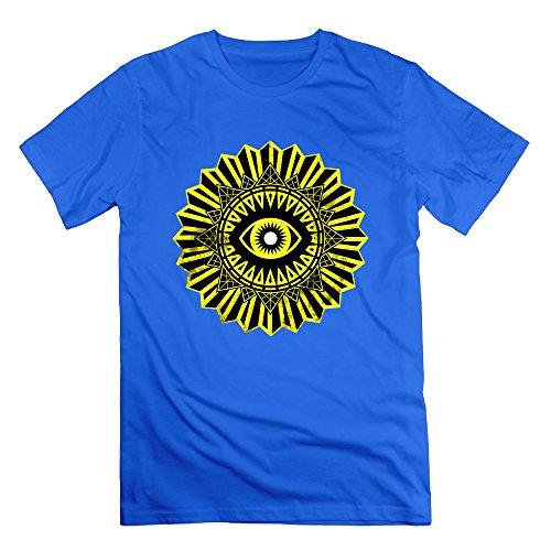 SAXON Man's Trials Of Osiris Logo Cool O-Neck Tee RoyalBlue Size 3X