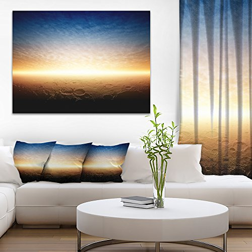 Sunset on Planet Mars Spacescape on Canvas Art Wall Photgraphy Artwork Print