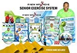 Senior Exercise System: Total Body Workouts Everybody can do. Shown as both seated exercise & standing exercise