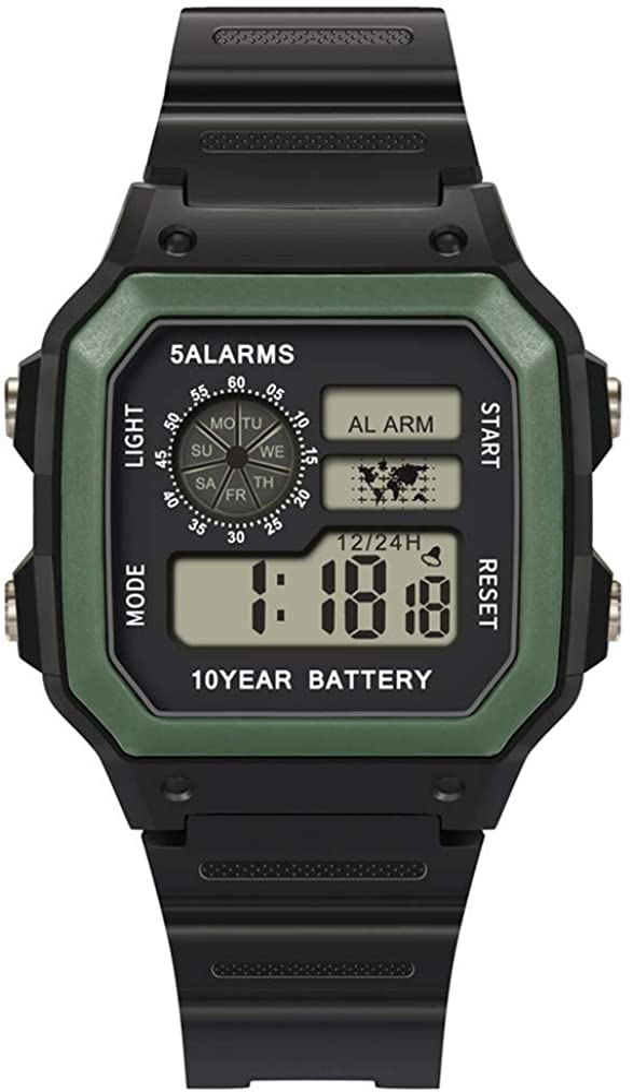 Reloj Smartwatch Hombre Reloj ElectróNico Impermeable 30M Deportes ...