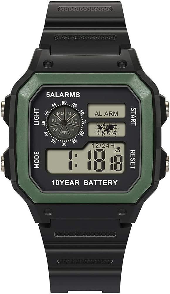 Reloj Smartwatch Hombre Reloj ElectróNico Impermeable 30M Deportes Reloj Digital MultifuncióN De Gama Alta Reloj Inteligente Hombre Reloj Despertador ...