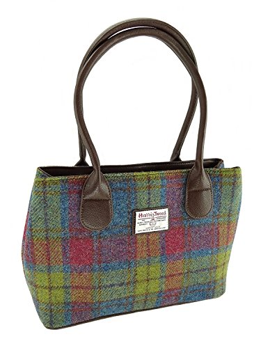 Colours Harris 46 Classic Tweed Various Col Ladies LB1003 Cassley Handbag In 0vdnq