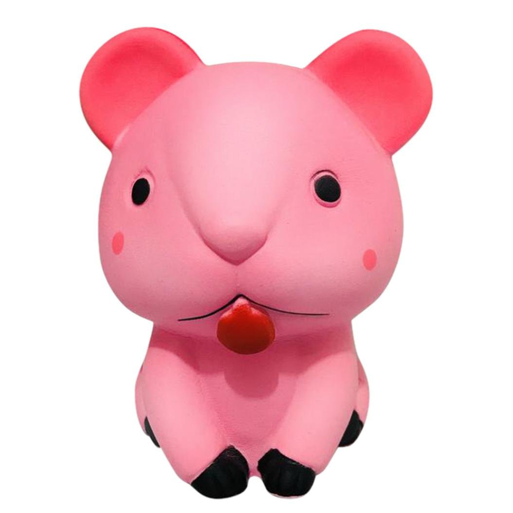 Mochi Kitten Cat Squishy Squeeze Cute Healing Toy Kawaii Collection Stress Relie