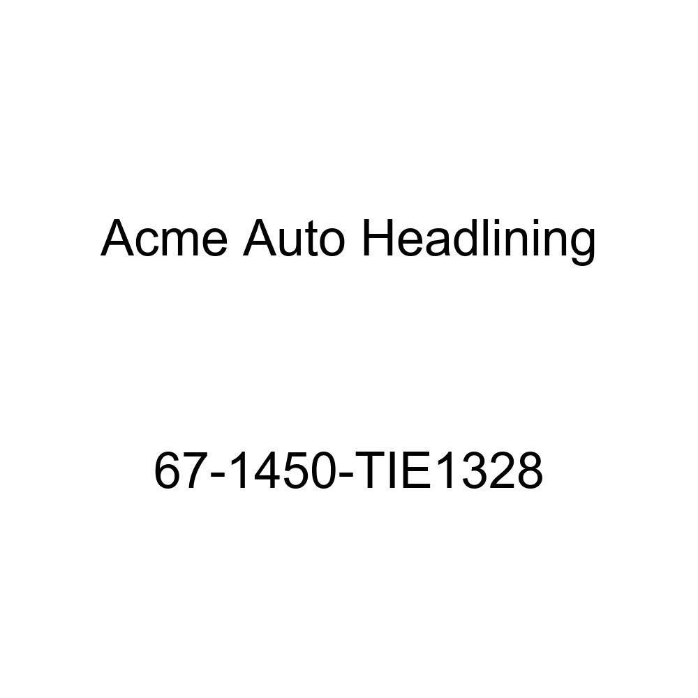 Chevrolet El Camino 3 Bow Acme Auto Headlining 67-1450-TIE1328 Red Replacement Headliner