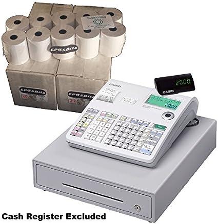 eposbits® marca rollos para Casio SE-S2000 caja registradora ...