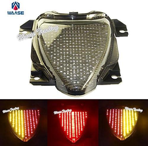 Suzuki Boulevard M109R Fender Eliminator Integrated LED Taillight Kit Brake and Turn Signals Clear Lens
