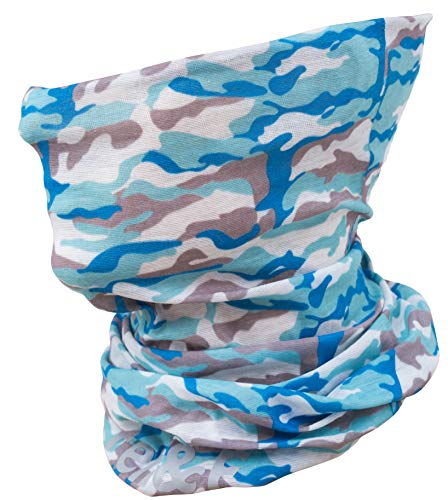(Fen & F Face Clothing Mask - Multifunctional Headband - Neck Gaiter - Seamless Camo Headwear of Microfiber for Outdoors Protection from Wind, Dust and Sun in Cold and Hot Weather)