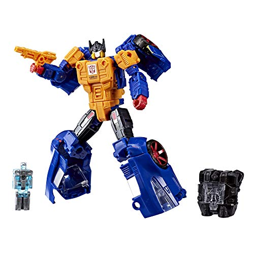 Transformers Power of the Primes Punch-Counterpunch and Prima Prime (Amazon Exclusive) (Metal Head Team Flip)