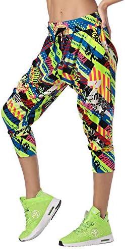 Zumba Capri Pantalon Harem de Entrenamiento Fitness Mallas de Deporte de Mujer 3
