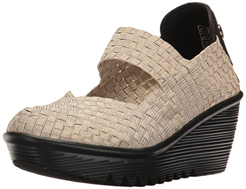Light Mev Pump Wedge Bernie Lulia Gold Women's wXZqPOPa