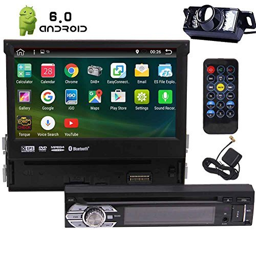 7In Single-DIN Android 6.0 Car Stereo Receiver With 2GB RAM