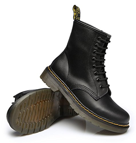 Stivali Stivali Martin da Velluto Stivaletti Scarpe Stivali uBeauty Donna Donna Classici Moda Nero OFUqFx