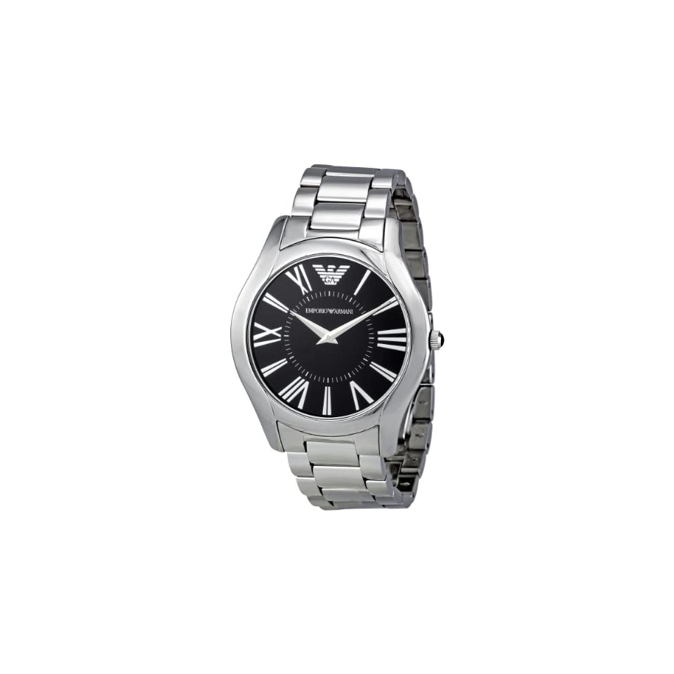 Emporio Armani Mens AR2023 Classic Stainless Steel Bracelet Watch
