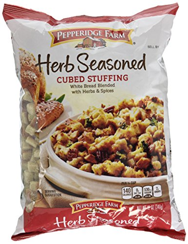 Pepperidge Farm Herb Seasoned Cubed Stuffing, 12 Ounce