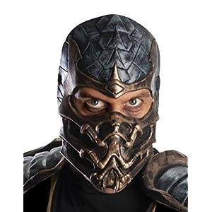 Licensed Adult Sweatshirt Hoodie Scorpion FIGHT Mortal Kombat X Sub-Zero vs