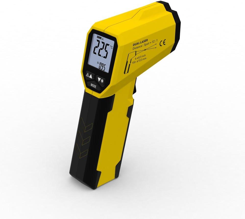 TROTEC Termómetro infrarrojo BP21 (medición temperatura: -35 °C hasta +800 °C)