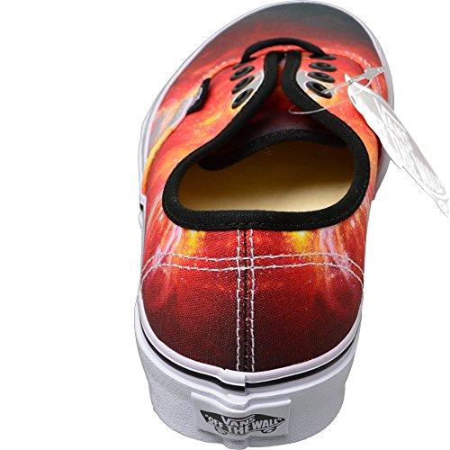 Giallo Nero Bianco Arancione Sneaker Autentici Furgoni Unisex Lo Rosso Adulti zAwqXxv8