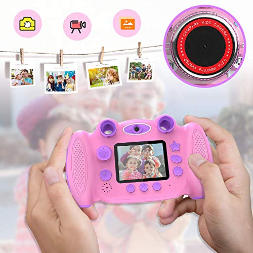 "Kids Camera, Campark Digital Video Camera Gift for boy and Girl, 2"" Screen Record Video Photo Play Games"